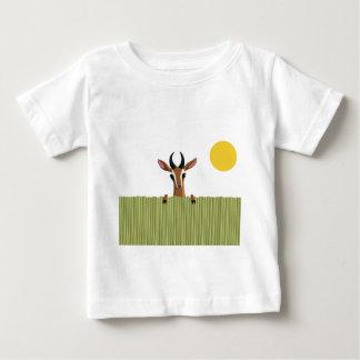 Mango the Gazelle Peek-a-boo Baby T-Shirt