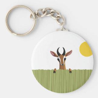 Mango the Gazelle Peek-a-boo Keychain