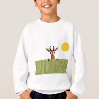Mango the Gazelle Peek-a-boo Sweatshirt