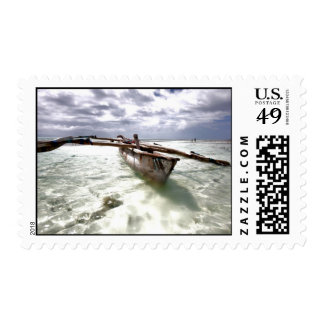 Mango Tree Boat Stamp