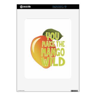 Mango Wild iPad Decals