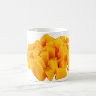 Mango Yellow Slice Classic White Mug