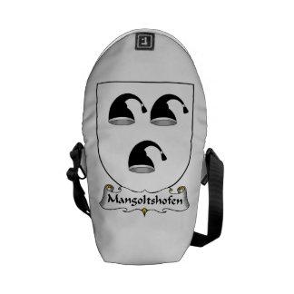 Mangoltshofen Family Crest Messenger Bags