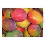 Mangos de Chinatown Tarjeta De Felicitación