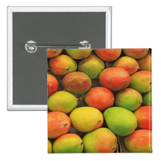 Mangos, España, Cataluña, Barcelona, La Boqueria Pin Cuadrado