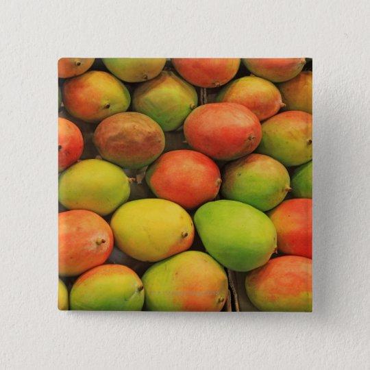 Mangos, Spain, Catalonia, Barcelona, La Boqueria Pinback Button