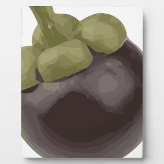 Mangosteen Natures Sweet Fruit Plaques