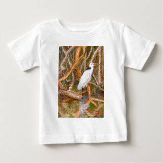 Mangrove Egret No. 2 Baby T-Shirt