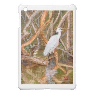 Mangrove Egret No. 2 Cover For The iPad Mini