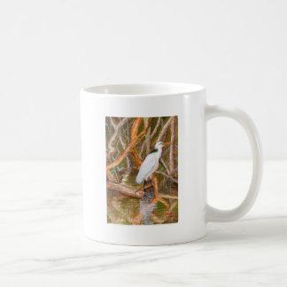 Mangrove Egret No. 2 Classic White Coffee Mug