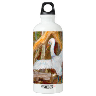 Mangrove Egret No. 3 Liberty Water Bottle