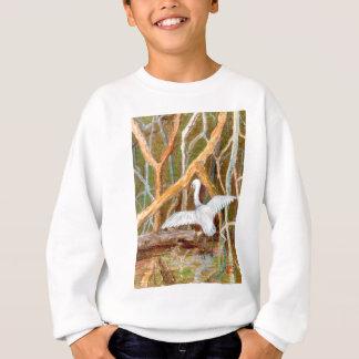 Mangrove Egret No. 3 Sweatshirt