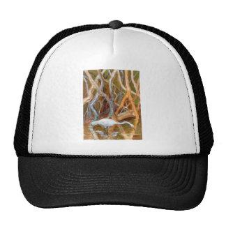 """Mangrove Egret No. 4"" Trucker Hat"