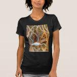 """Mangrove Egret No. 4"" Shirts"