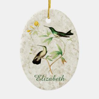 Mangrove Hummingbird Ceramic Ornament
