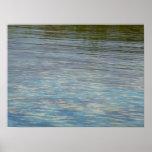 Mangrove Lagoon Water Caribbean Blue Poster
