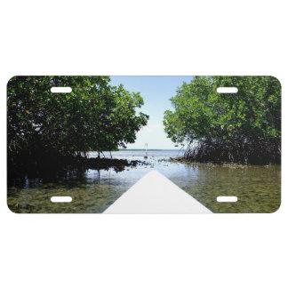 Mangrove Passage License Plate