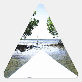 Mangrove Passage Triangle Stickers