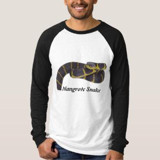 Mangrove Snake Basic Long Sleeve Raglan T-Shirt