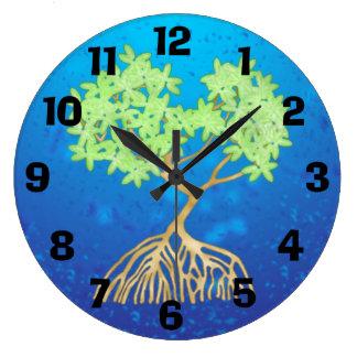 Mangrove Tree Wallclock