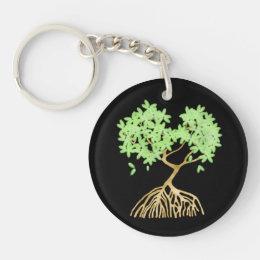 Mangrove Tree Keychain