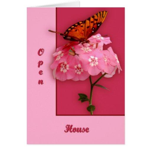 manguera abierta del ib tarjeta de felicitación