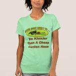 Manguera de jardín rizada camiseta