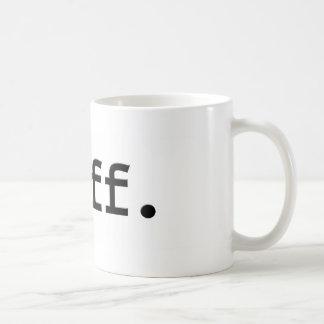 manguito tazas de café