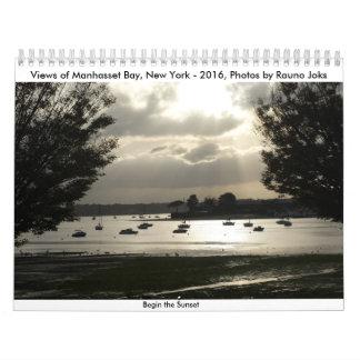 Manhasset Bay, NY- 2016, Photos by Rauno Joks Calendar