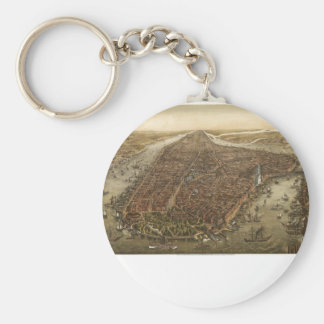 Manhattan 1873 key chains