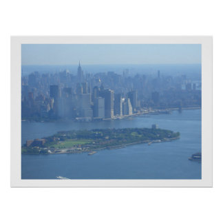 Manhattan and Governors Island Posters