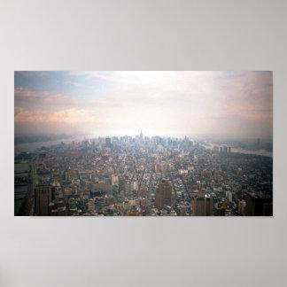 Manhattan as seen from 2 World Trade Center Print