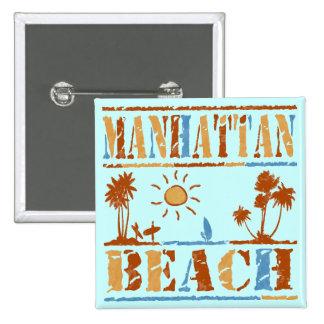 Manhattan Beach Button