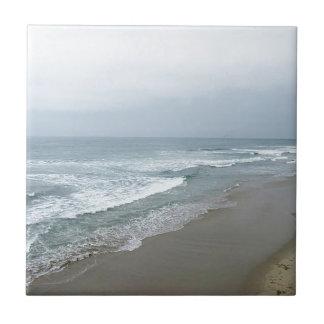 Manhattan Beach California Azulejo Cuadrado Pequeño