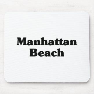 Manhattan Beach  Classic t shirts Mouse Pads