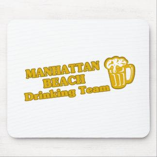 Manhattan Beach Drinking Team tee shirts Mousepad