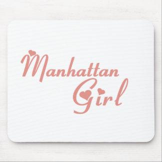 Manhattan Beach Girl tee shirts Mousepads