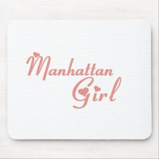 Manhattan Beach Girl tee shirts Mouse Pad