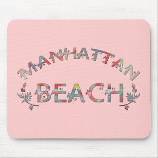 MANHATTAN BEACH MOUSE PADS