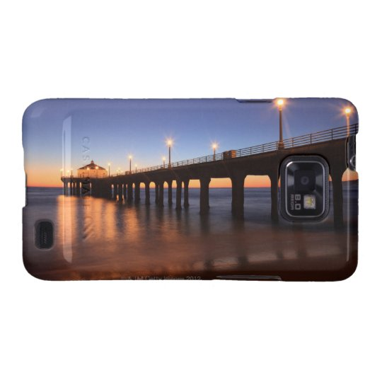 Manhattan Beach Pier at sunset, California Galaxy SII Case
