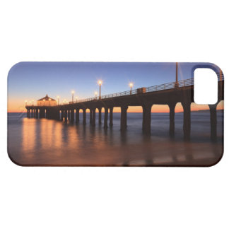 Manhattan Beach Pier at sunset, California iPhone SE/5/5s Case