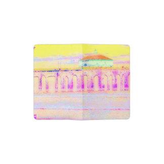 Manhattan Beach Pier California in Pastels Pocket Moleskine Notebook
