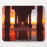 Manhattan Beach Pier Mouse Pad