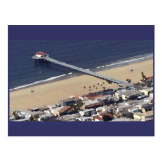 Manhattan Beach Pier Postcard