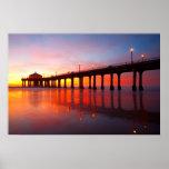 Manhattan Beach Pier Print