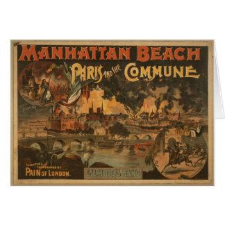 Manhattan Beach Tarjeta De Felicitación