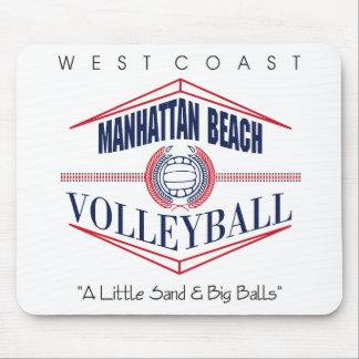 Manhattan Beach Volleyball Gift Mouse Mat