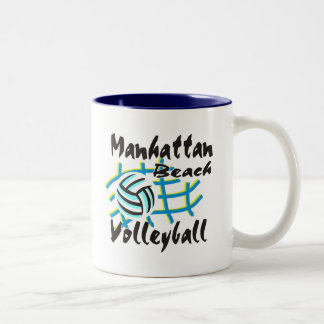 Manhattan Beach Volleyball Gift Mug