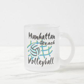 Manhattan Beach Volleyball Gift Coffee Mugs