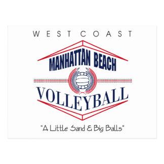 Manhattan Beach Volleyball Gift Postcard